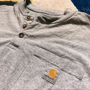 Men's large carhartt Henley t